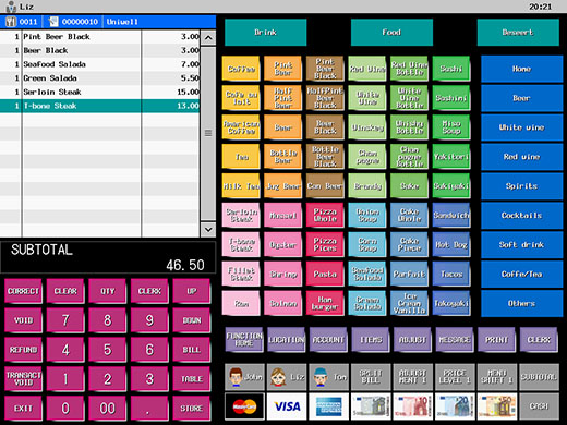 Uniwell Hx 4500 Touch Screen Harmony Epos Solutions